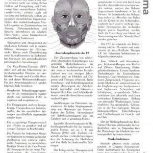 Artikelvorschau: Face-Former-Therapie (FFT)