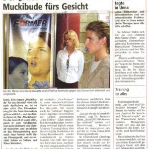 """Artikelvorschau: Der """"Face-Former"""": Eine Muckibude fürs Gesicht"""