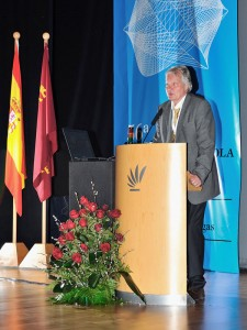 Dr. Klaus Berndsen at the International Orthodontic Congress in Murcia / Spain